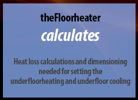 calculating heat loss and dimensioning underfloor heating